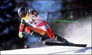 Ulrike Maier was killed in a downhill race in 1994