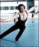 John Currry, gold medal winner at the 1976 Winter Olympics