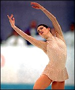 Nancy Kerrigan at the 1994 Winter Olympics