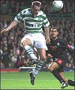 Joos Valgaeren equalised for Celtic