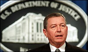 John Ashcroft, Fiscal General