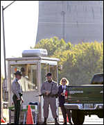 Security at a nuclear power plant, AP
