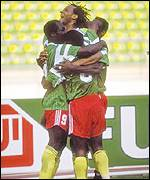 Roger Milla was Cameroon's star player