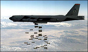 B 52 Carpet Bombing B-52 bomber