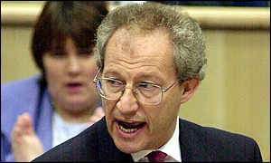 First Minister Henry McLeish