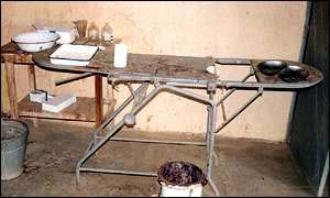 Birth table used in health centres