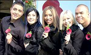 Hearsay show their poppies