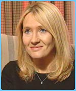 JK Rowling talks to Newsround
