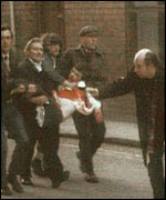 One of the casualties of Bloody Sunday