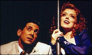 Michael Berresse and Nancy Anderson as Bill Cahoun and Lois Lane in Kiss Me Kate