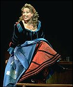 Marin Mazzie as actress Ms Vanessi, who plays Kate