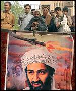 Bin Laden supporters, Peshawar