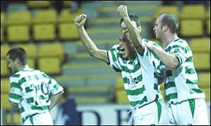 Henrik Larsson and Celtic would not be denied