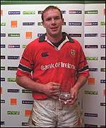 Munster's John Kelly