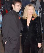 JK Rowling and partner arrives at the premi�re
