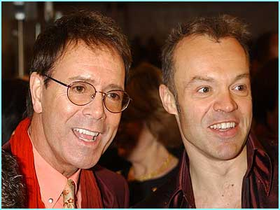 Cliff Richard and Graham Norton