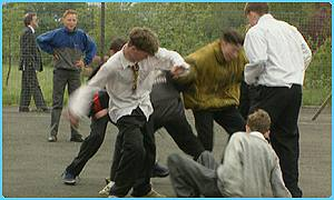 Bullying in the playground getting worse