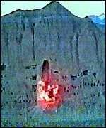 La destrucci�n de los Budas de Bamiy�n