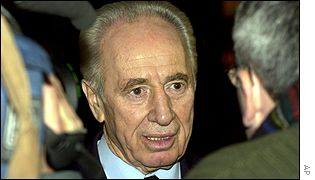 Shimon Peres in Brussels