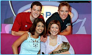 Blue Peter team