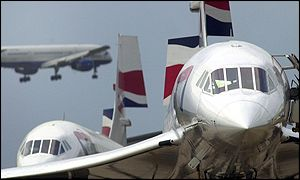 BA aircraft at Heathrow