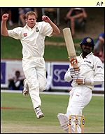 Shaun Pollock had a tremendous Test