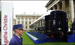 An Orient Express carriage