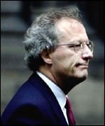 Henry McLeish leaves the parliament