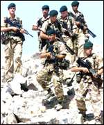 Royal Marines on exercise in Oman this year