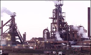 Port Talbot plant on Friday morning