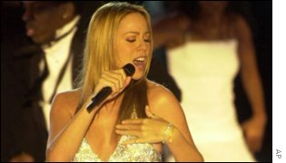 Mariah Carey - one of the artists whose recordings are protected by software Microsoft is accused of misappropriating. AP