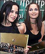 Irish pop stars the Corrs