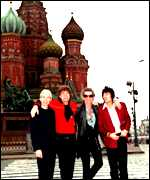 The Stones in Moscow