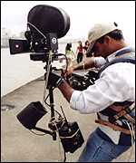Bollywood cameraman