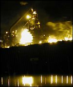 Fire at Port Talbot