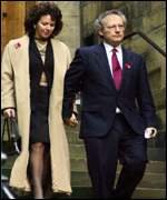 Henry McLeish and wife