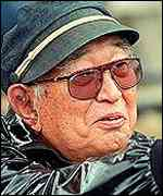 [ image: Akira Kurosawa: Famed for strong men]
