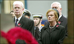 Scotland's acting First Minister Jim Wallace and Scottish Secretary Helen Liddell