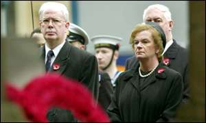 Jim Wallace and Helen Liddell, Acting First Minister and Scottish secretary respectively