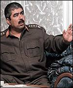 Northern Alliance commander Abdul Rashid Dostum