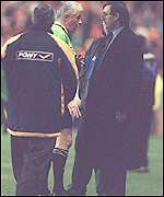 Then Norwich boss Bruce Rioch was heavily critical of Muscat