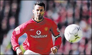 Ryan Giggs was one of a number of Manchester United stars who lined up to play at Oakwell