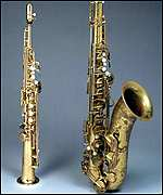 Ronnie Scott's saxophones