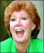 Blind Date presenter Cilla Black