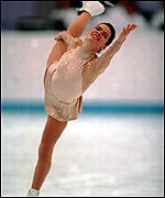 Nancy Kerrigan won silver at the 1994 Games
