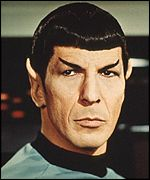 Portrait of Spock
