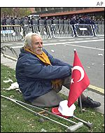 An unemployed civil servant in Istanbul