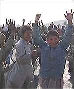 Kabul residents celebrate