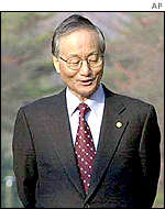 South Korean Unification Minister Hong Soon-young