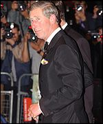 Prince Charles: introduced to the cast by Jagger